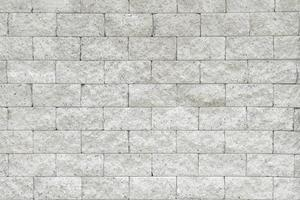 White brick wall with copy space photo