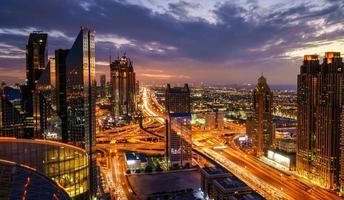 Dubai rush hour photo