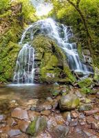 cascada en el bosque tropical foto