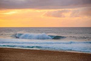 Sunset on Hawaii, USA photo