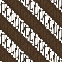 Batik Parang Indonesia vector