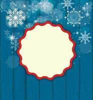 belleza abstracta fondo de navidad y año nuevo vector