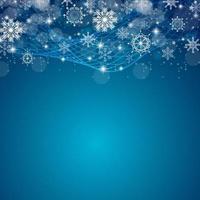 Fondo de Navidad y año nuevo de belleza abstracta. vector