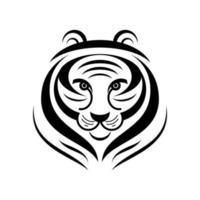 tiger logo isolate vector