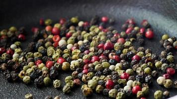 Colorful Peppercorn  medley dry seasoning photo
