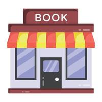 Book Store and Shop vector