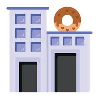 Confectionery Shop and Store vector
