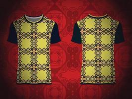 Decorative Ornamental T-shirt Pattern vector