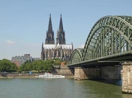 View of Koeln, Germany photo