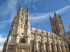 Canterbury Cathedral church photo