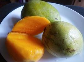 Fresh Ripe Mango Fruits photo