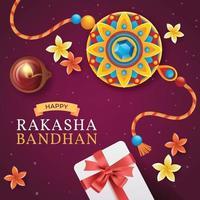 Rakasha Badhan Festival vector