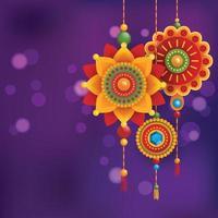 Rakhi Festival Background vector