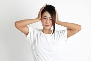 mujer de asia oriental foto