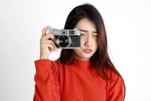 East Asian Woman photo