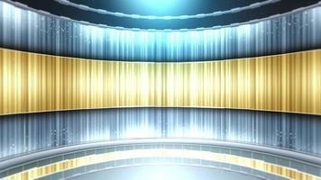 sfondo di notizie in stile studio virtuale video