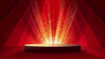 schöner Bühnenbeleuchtungshintergrund video