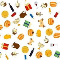 Illustration on theme big colored pattern jug vector