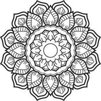 Black Mandala for Design, Mandala Circular pattern design vector