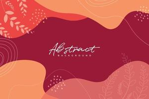 Abstract minimalist hand drawn background vector