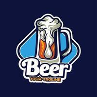 Beer Mascots Logo Character vector