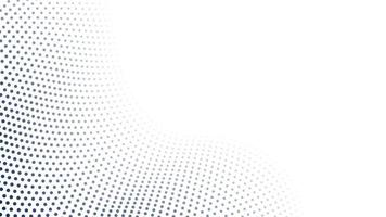 lack and white wave halftone pattern background vector