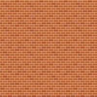 vector illustration. seamless background. red brick wal