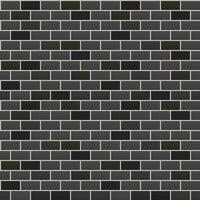 vector illustration. seamless background. black brick wall.