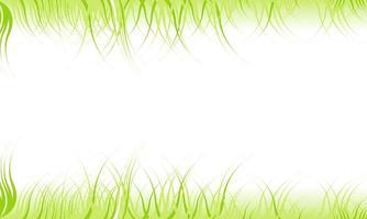 fondo abstracto con borde de hierba verde foto