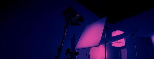 equipos de luz de estudio para fotos o películas