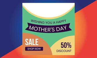 Mothers Day sale, Mothers Day for banner, marketing, poster, vector