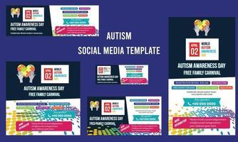 World autism awareness day. autism awareness, World autism awareness vector