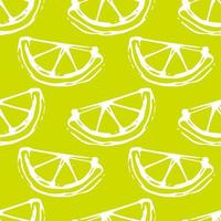 lemon lime seamless colored background vector