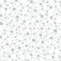 Neural network seamless pattern. Neural network vector