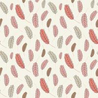 feather seamless pattern. vector