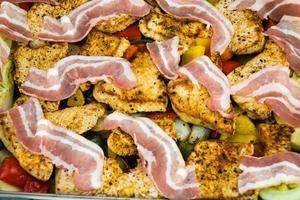 Vegetable and pork tenderloin casserole photo
