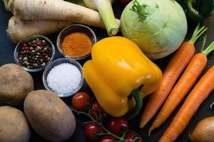 Vegetables for cooking photo