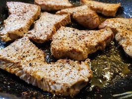 Fried pork meet photo