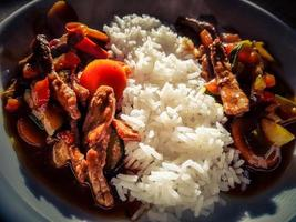 curry tradicional asiático fresco foto