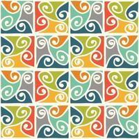 ethnic pattern tribal art background vector