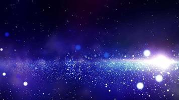 spiraalstelsel in de verre ruimte video