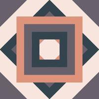 colorul geometric retro design vector