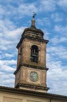 bell tower of the cathedral of teni in the stotic part of the city photo