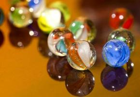 Game Toy Glass Round Ball Marble for Children photo