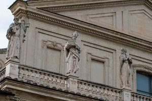 detail of the cathedral of terni photo