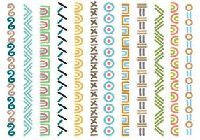 Tribal Page Border Collections vector