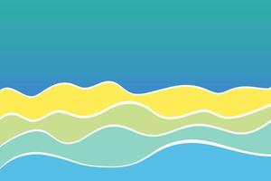 Abstract wave line pattern background. vector