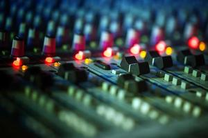 Music Equipment Etnetrainment Audio DJ Mixer photo
