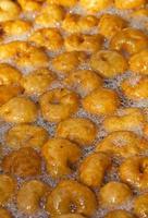 dulce tradicional turco lokma foto