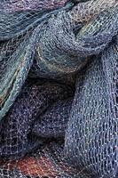 Abstract Industry Maritime Fishnet Ropes Fishing Lines photo